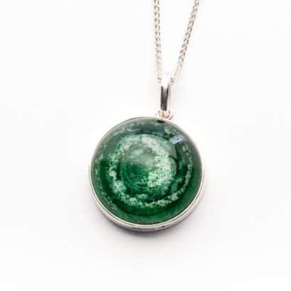 Memorial Glass Pendant Memorial Jewellery ashes into glass