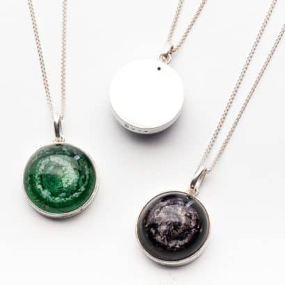Memorial Glass Pendants Memorial Jewellery ashes into glass