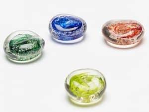 Memorial Glass Comfort Stones